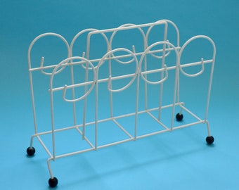 Mid-Century Atomic Magazine Rack