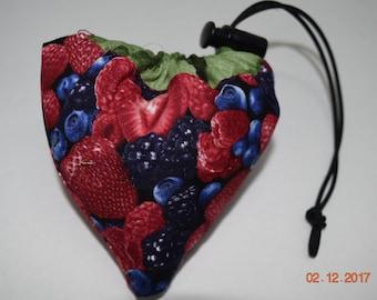 Shopping Bag, Market Bag, Foldable, Reusable, Collapsable, Berries