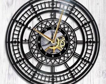 Big Ben Vinyl Wall Clock