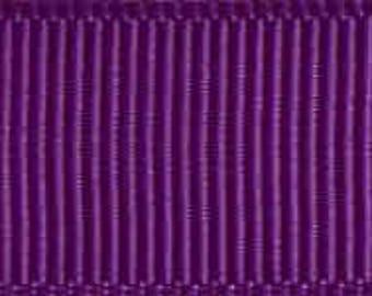 "Clearance! - 5/8"" Morex Grosgrain Ribbon - Ultra Violet - 100YDS - Only 1 Roll Left!"