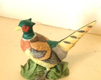 Antique Lefton Pheasant Figure