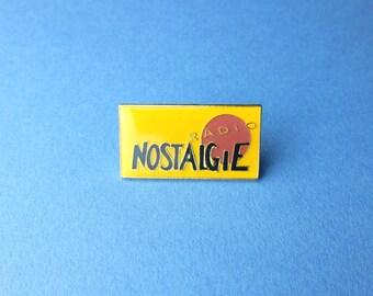 Nostalgia France 90's Vintage Radio badges