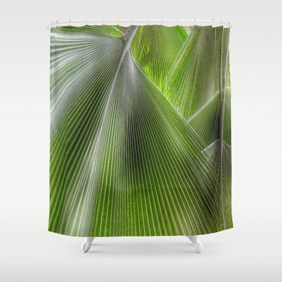 Jungle Palms Shower Curtain, Bathroom, Jungle Home Decor, Tropical Shower Curtain, Green Shower Curtain, Palm Tree, Nature, Beach, Holiday