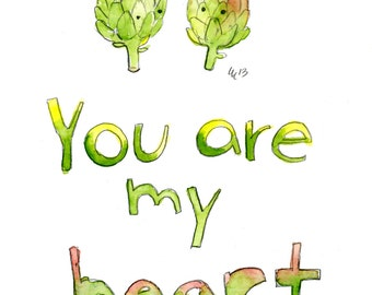 You Are My Heart, Happy Birthday (greeting card)