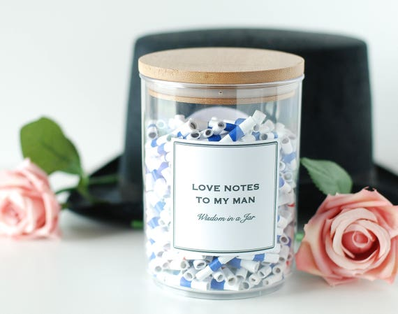 Printable love notes to my man messages jar quotes jar