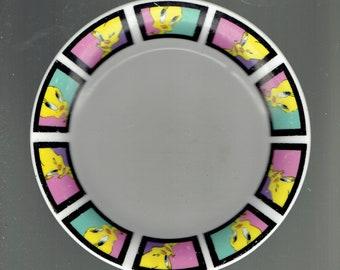 tweety bird child's plate 2000