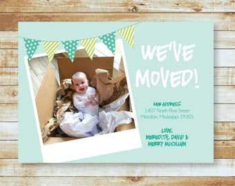 Moving Card / Baby in a Box / We've Moved