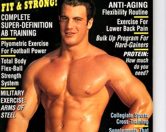 Exercise For Men Only  magazine- february  1998 - vol 14 -issue #1/ health and fitness