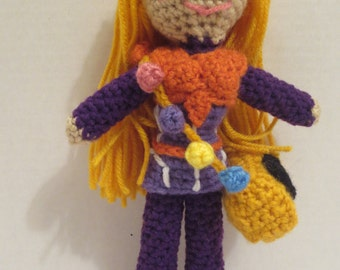 Honey Lemon crochet doll Big Hero 6