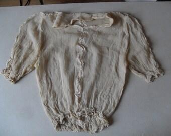 """free shipping  OTTOMAN   silk blouse  SİZE  =  16"""" X 20"""" ( 40 cm X 50 cm)"""