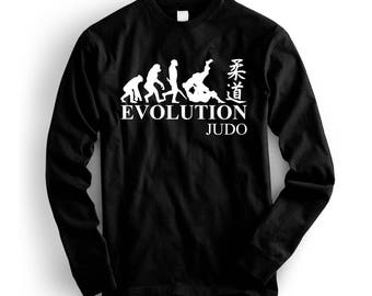 Evolution of Judo Cool Martial Arts Sweatshirt