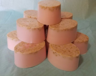 Strawberry  Buttermilk Luxury Soap 6 Count