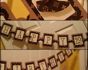 A Happy Birthday Name Brand Banner