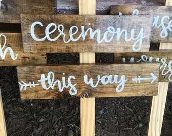 Custom Wooden Sign / Wedding Decor / Wood Sign / Rustic Wooden Sign