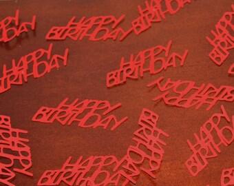 Happy Birthday Confetti- Set of 50