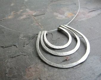 Ripple - Sterling Silver Cable Necklace