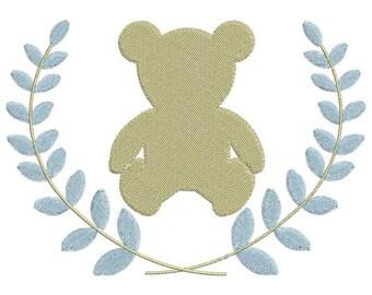 Little bear and Laurel crown