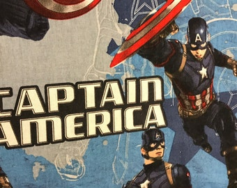 Captin America super hero curtain Valance