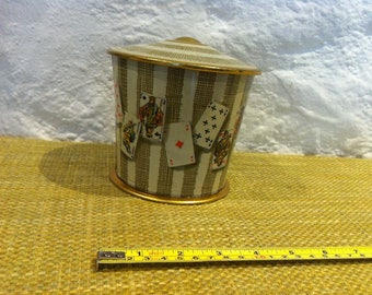 Vintage tin can decoration beautiful deco lithography ?