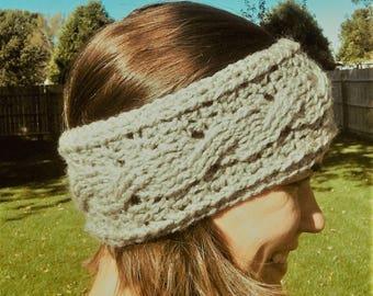 Crocheted Ear Warmer Headband