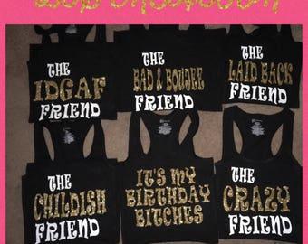 Birthday squad shirt!!!!