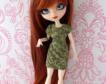 Dress for Pullip/Pureneemo Green Shades