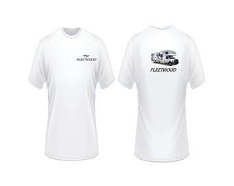 Motorhome Fleetwood Tioga RV T shirt custom camper tee is Availible