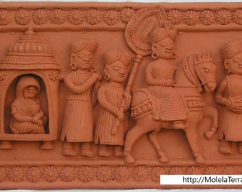 Marriage Ceremony Terracotta Tiles