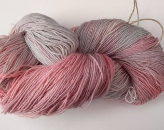 Handpainted yarn 4ply Bluefaced Leicester 100% wool