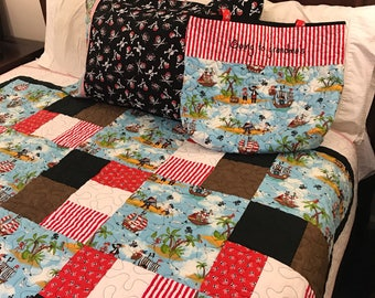 Toddler Pirate Bed Set