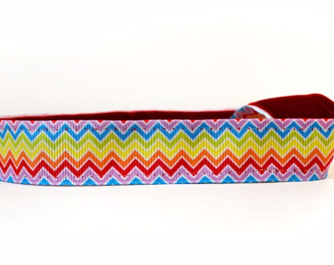 Nonslip headband Rainbow Chevron