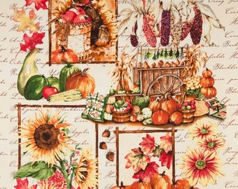 Autumn Splendor - Panel - Clothworks