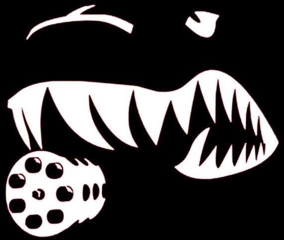A 10 Warthog Nose Art Decal Sticker Ar15 Mag Well Stickers