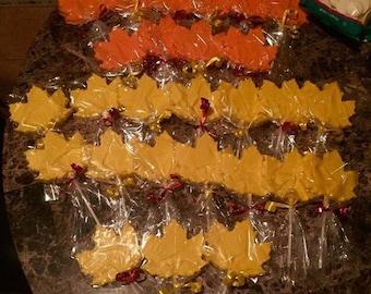 Thanksgiving lollipops (12qty)