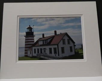 West Quoddy Head Light 1808