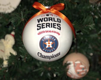 Houston Astros Champion Ornament