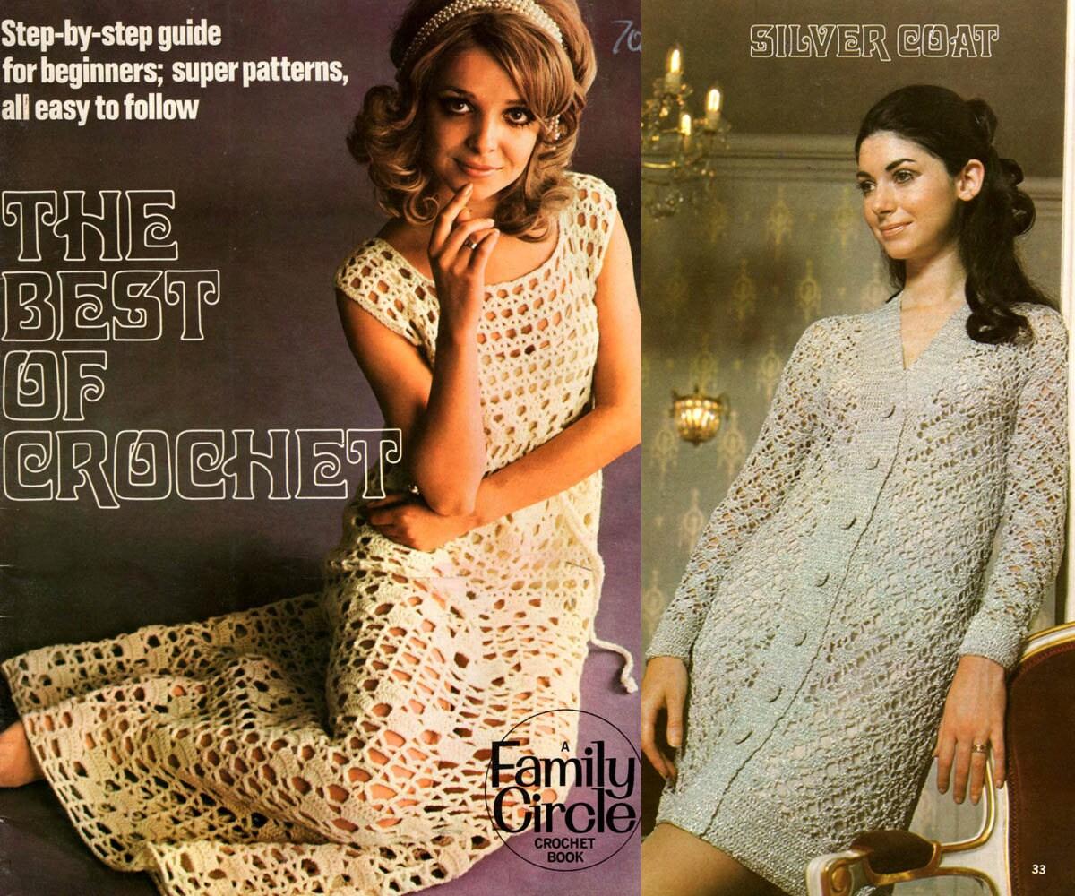 1970s Crochet Patterns Book \