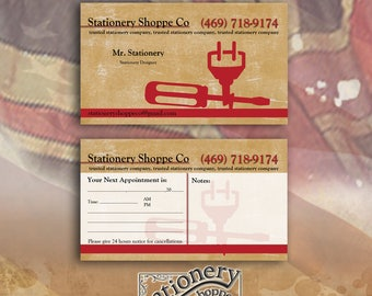 Stationery, Business cards, Electrician, Printable business cards, Prinables, Download, Graphic design, Design company, Electrician Company