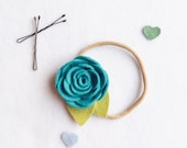 Toddler Headband.  Felt Flower Headband. Newborn Headband. Cake Smash Prop. Photo Prop. Hair Flower. Flower Headband Wedding. Flower girl