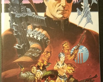 Nick Fury vs S.H.I.E.L.D. #1 (1988) Comic Book