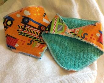 Newborn bandana bibs