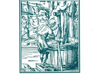 Series I, The Dyer - Occupational Bookplate