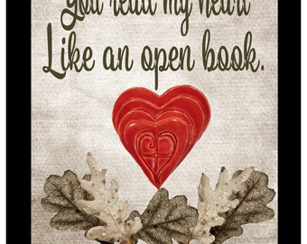 You read my heart like and open book. Psalm 139:3 Shadow Box
