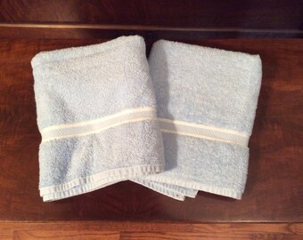 Set of 2 Vintage Full Sized Cannon Bath Towels