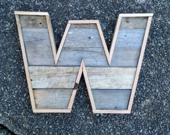 Reclaimed wood letters | Rustic home decor | Pallet letters | Wood letters | Rustic wood letters | Wedding decor | Marquee Letters