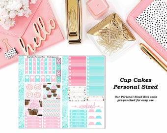 Cup Cakes Personal Sized Planner Kit