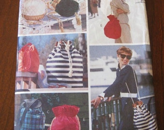Vogue 8070 Purses Totes Bag pattern