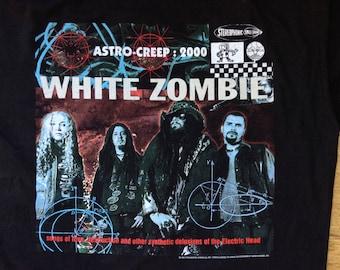 Superb Vintage White Zombie European 95 tour shirt XL