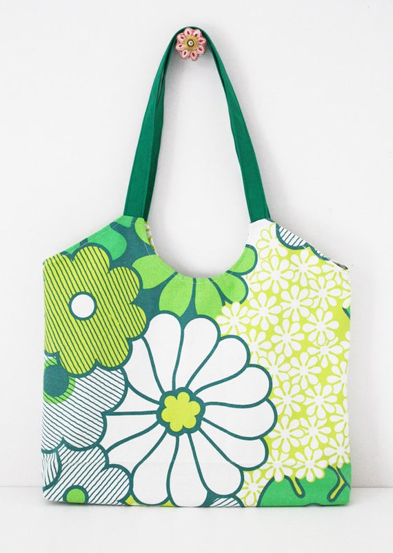 Market tote sewing pattern PDF instant download bag sewing