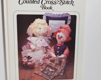 Vintage The Great Counted Cross Stitch Book Guide 1983